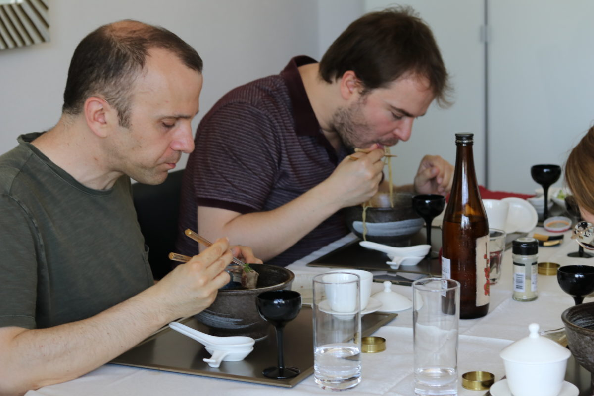 Japanischer Kochkurs (Shoyu-Ramen) im Juni 2018