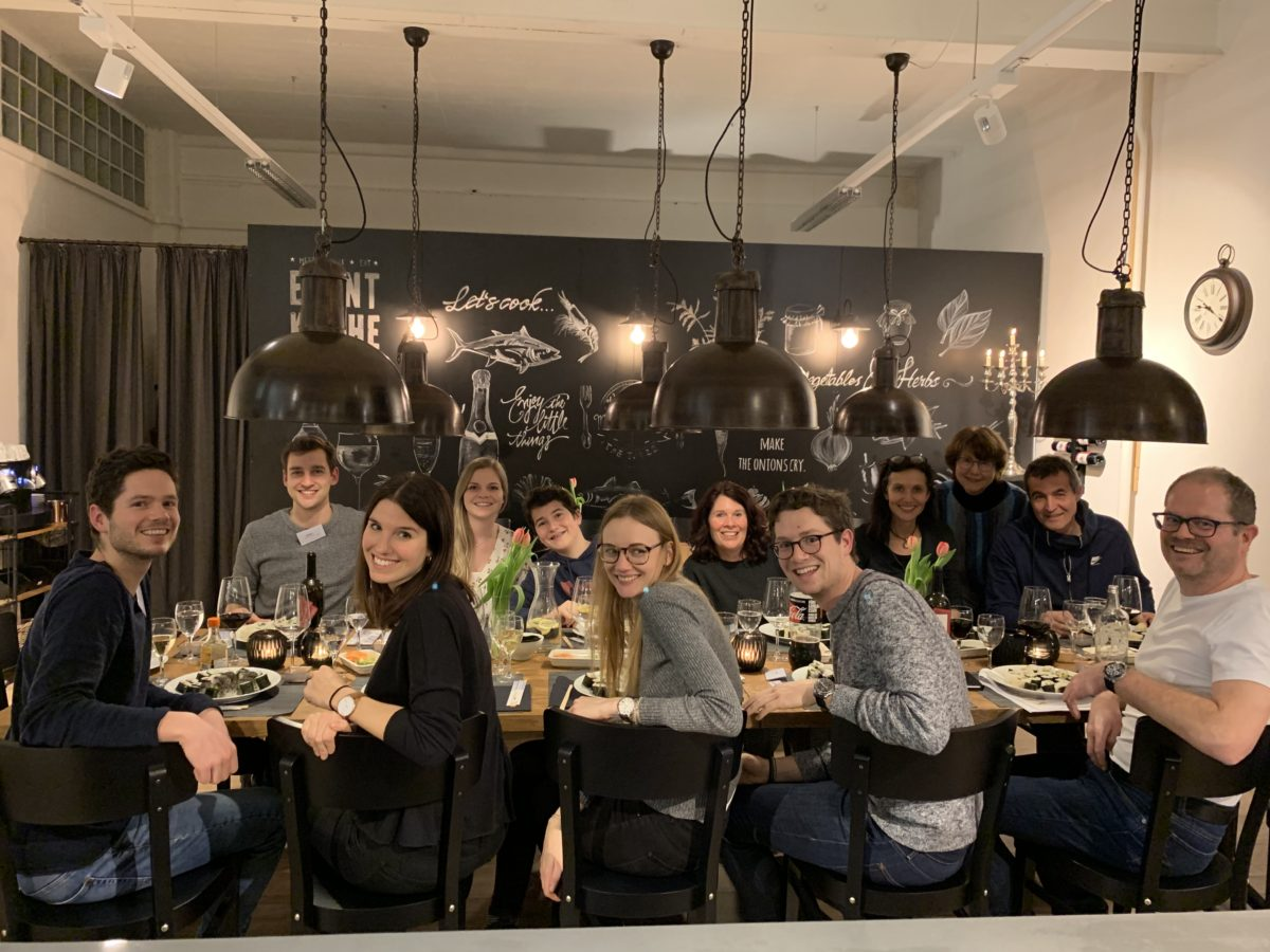 Onsite sushi course in Baden in February 2019