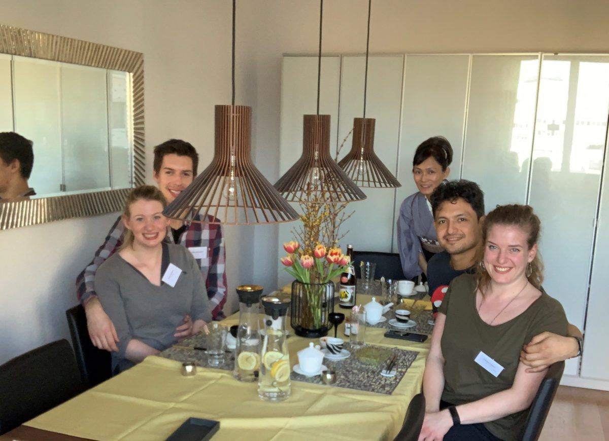 Japanese cooking class (Shoyu-Ramen) in February 2019