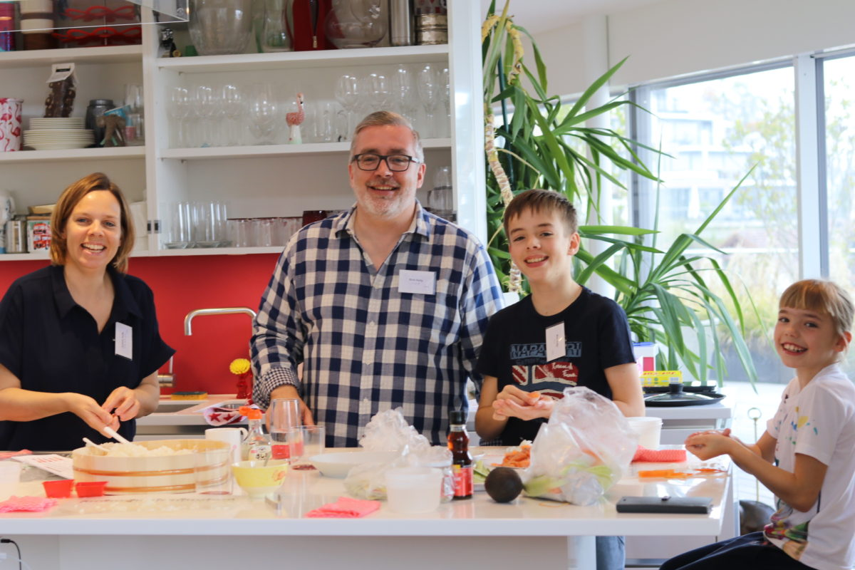 Onsite sushi course in Zurich in April 2019