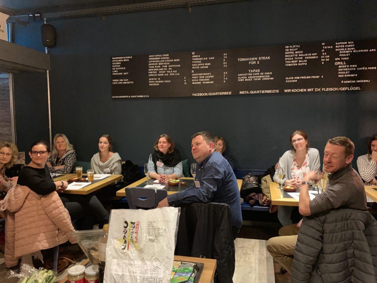 Sushi-Kurs vor Ort im Februar 2019 in Thun
