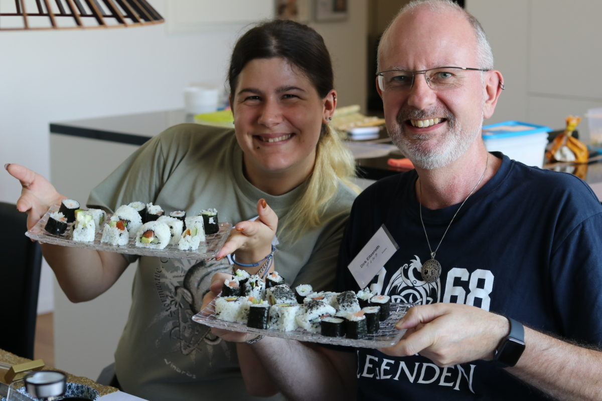 One day intensive sushi class in September 2018
