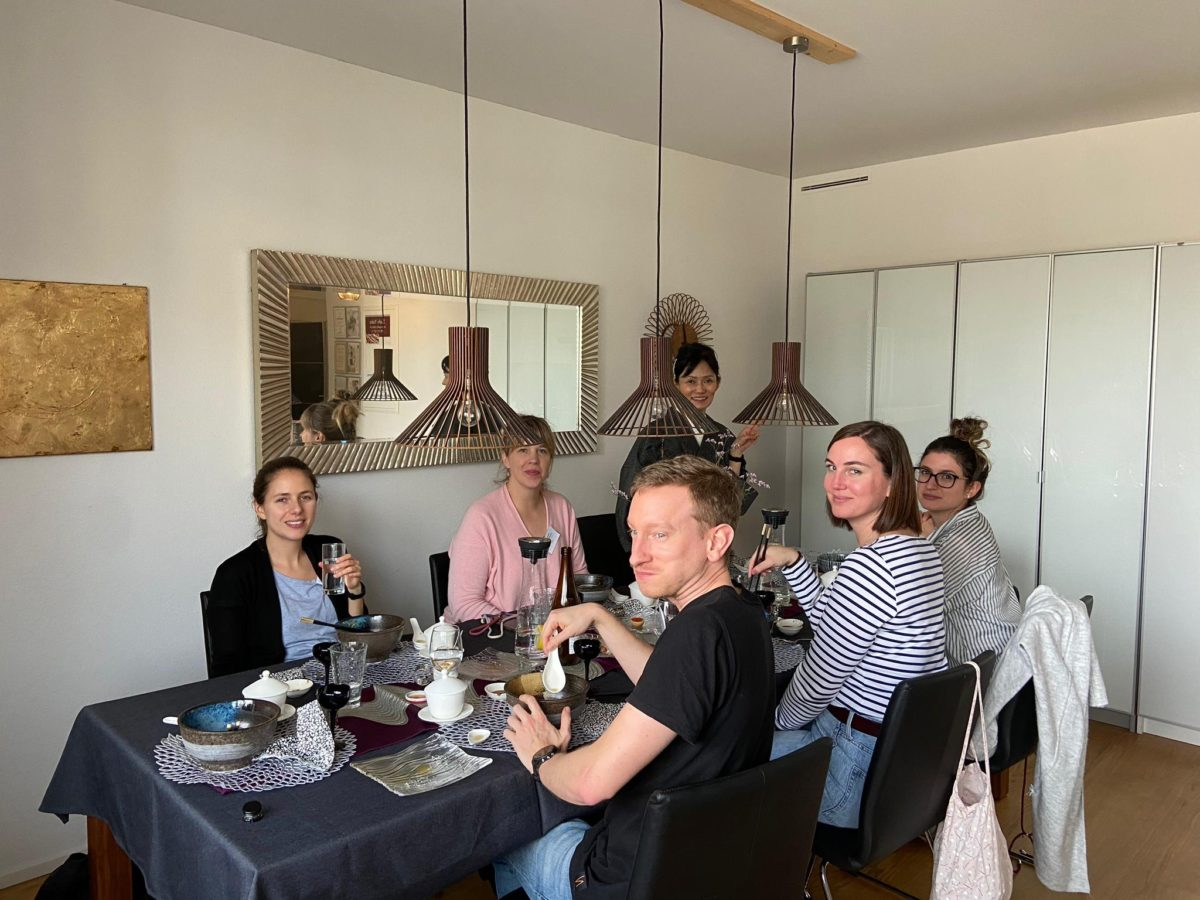 Japanese cooking class (Shoyu-Ramen) in March 2020