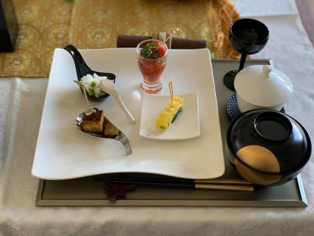 Japanese vegan finger food in Zurich
