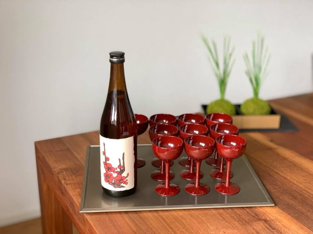 Umeshu / plum wine (for the aperitif)
