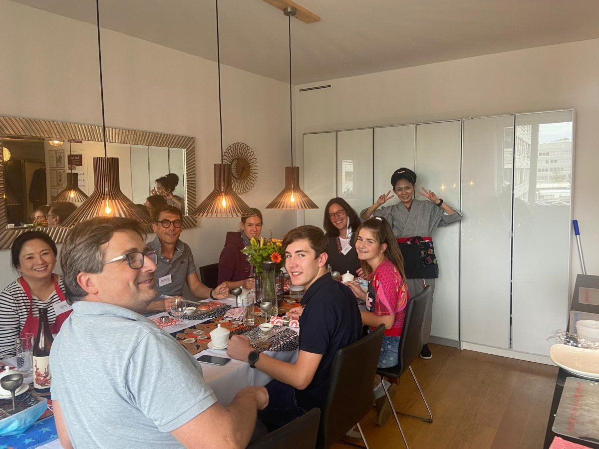 One day intensive sushi class in September 2020