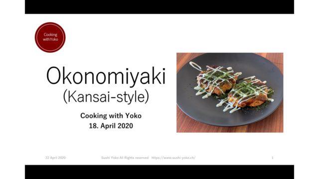 okonomiyaki online class in Zurich