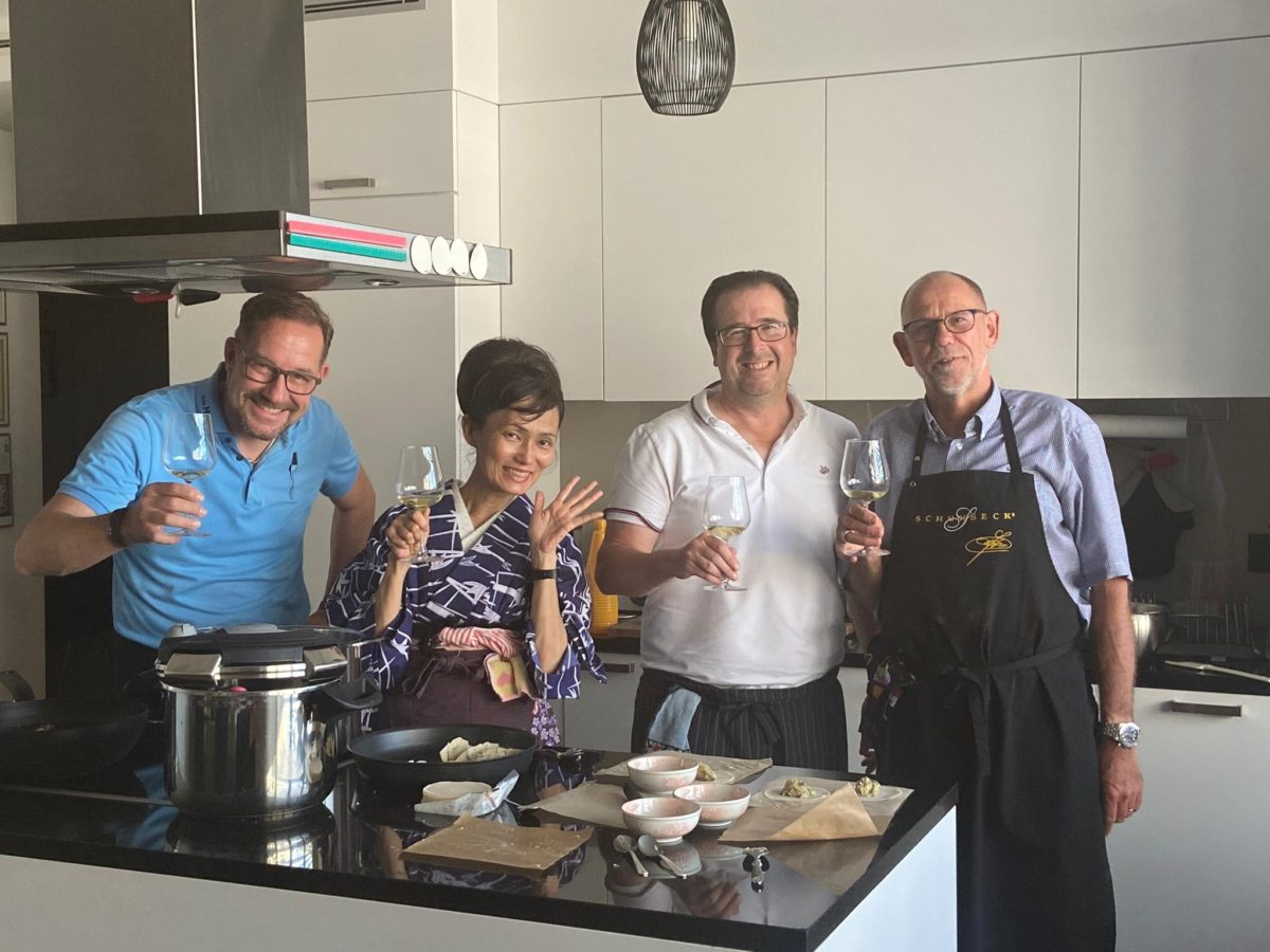 private Japanese cooking class in July 2020