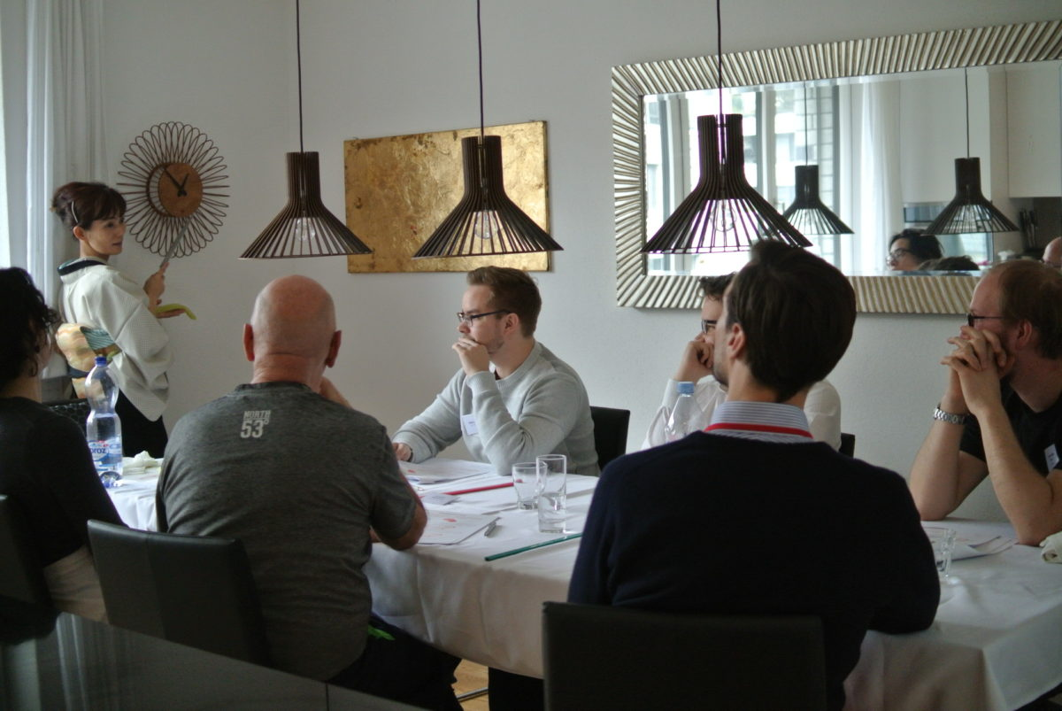 One day intensiv sushi class in February 2018