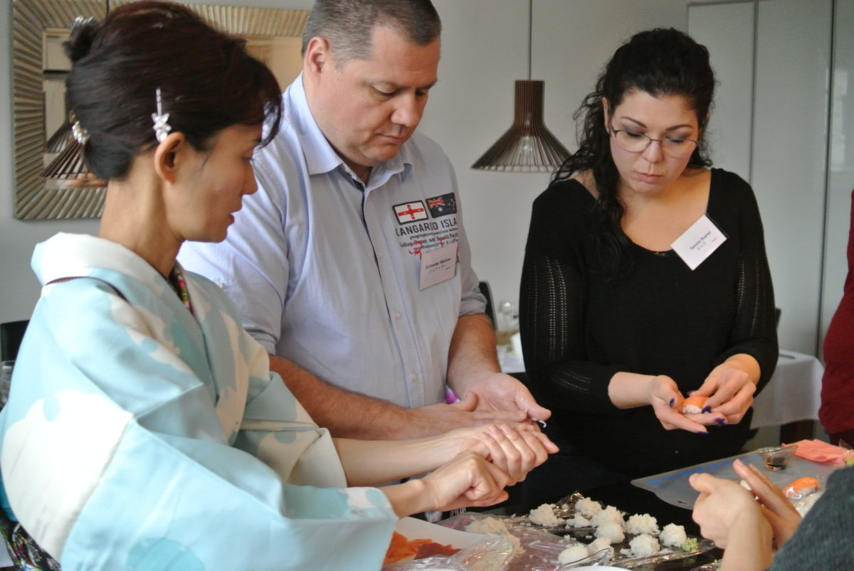 One day intensiv sushi class in February 2018 (2)