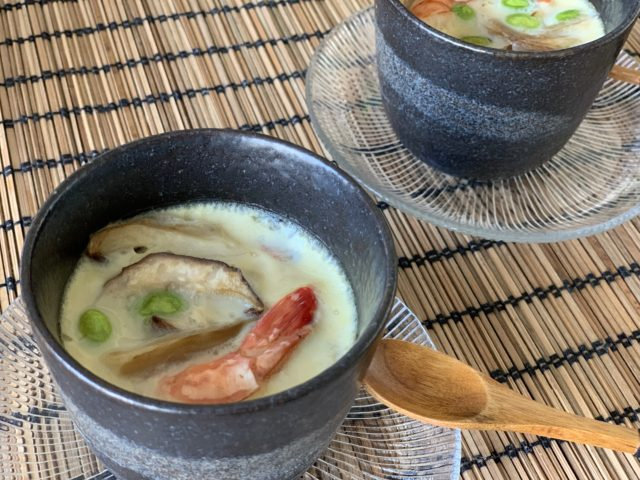 chawanmushi in cooking class in Zurich