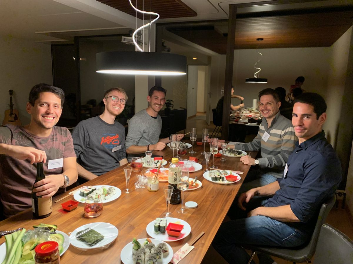 onsite sushi course in Zurich in November 2019(2)