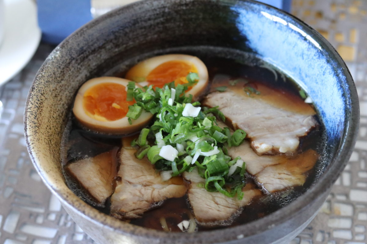 Japanese cooking class (Shoyu-Ramen) in October 2018