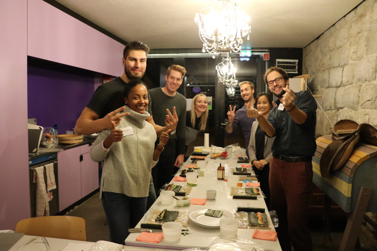 Onsite sushi course in Zurich in November 2018