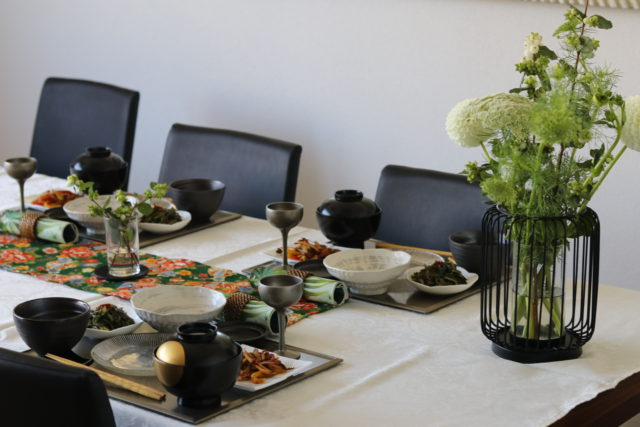 vegetarian Japanese cooking class