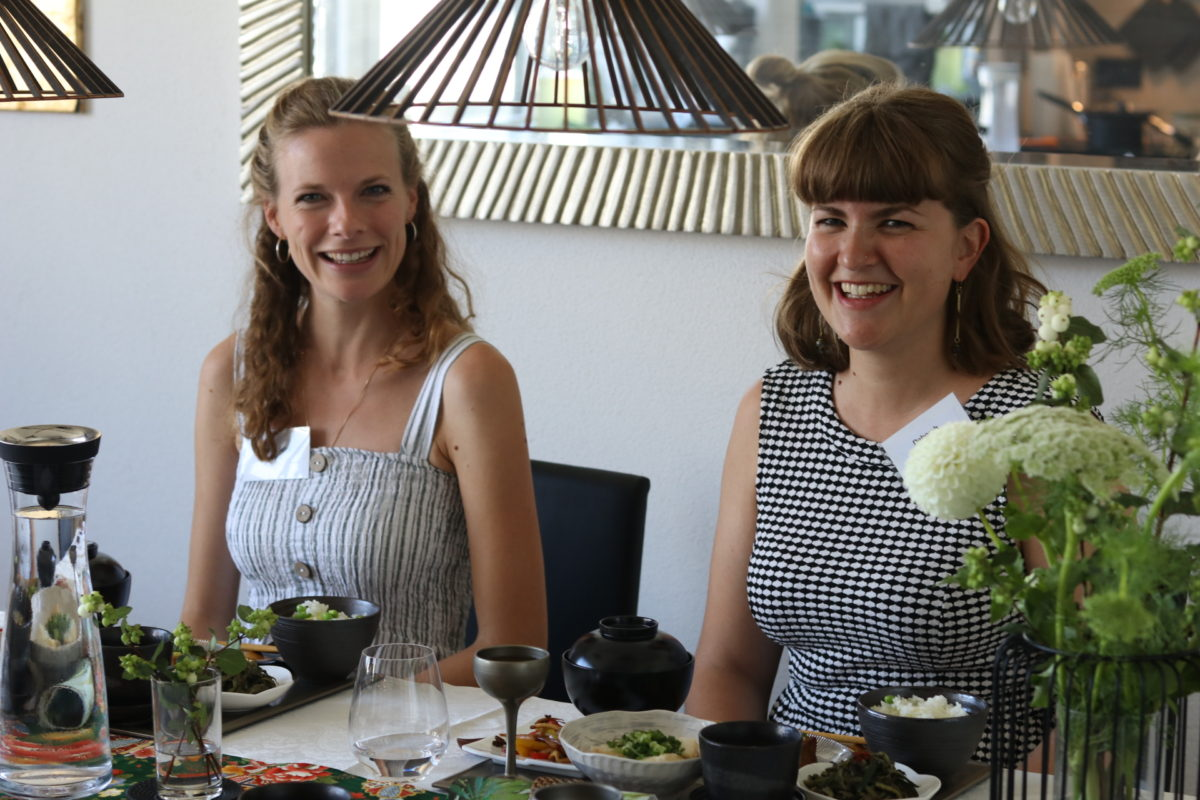 Japanese-vegetarian cooking class in August 2019