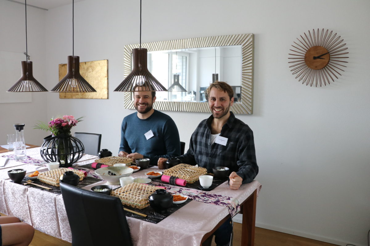 Private Japanese cooking (Yakitori) in November 2019