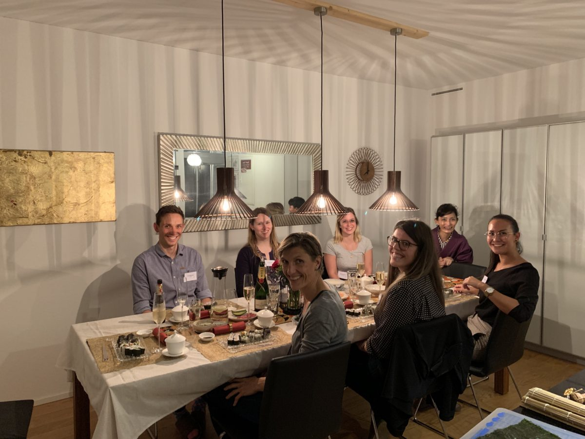 private sushi class in October 2019