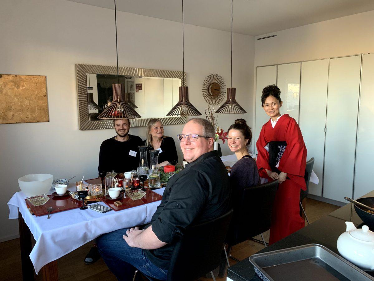 Japanese cooking class (Shoyu-Ramen) in December 2019(2)