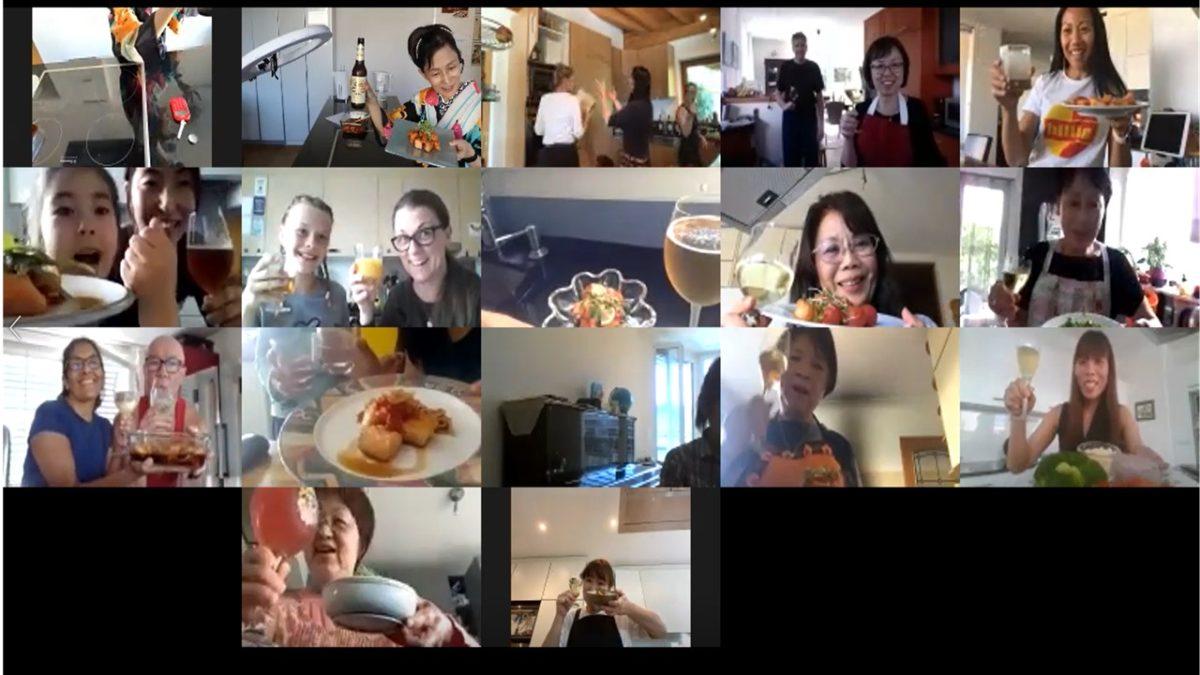 online class Salmon Nanban-Zuke in June 2020