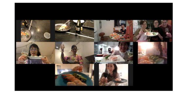 Nigiri sushi online class