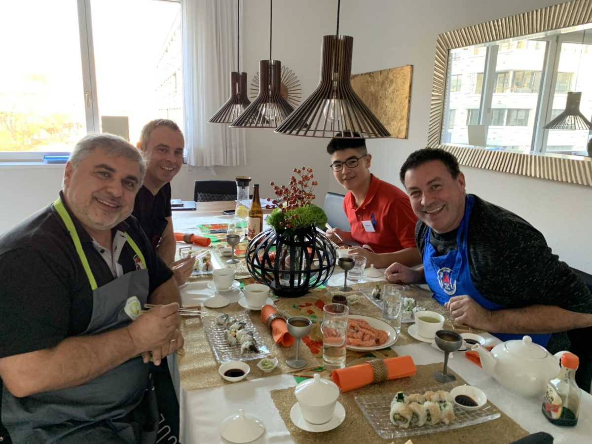 One day intensive sushi class in November2018