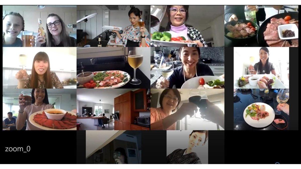 オンライン料理教室「超簡単ローストビーフを柚子胡椒オニオンソースで」 2020年6月