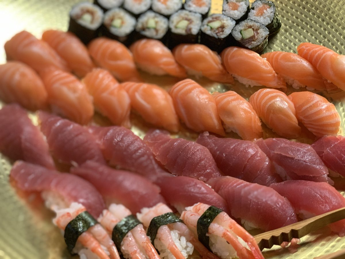 Sushi & Yakitori Catering in September 2019
