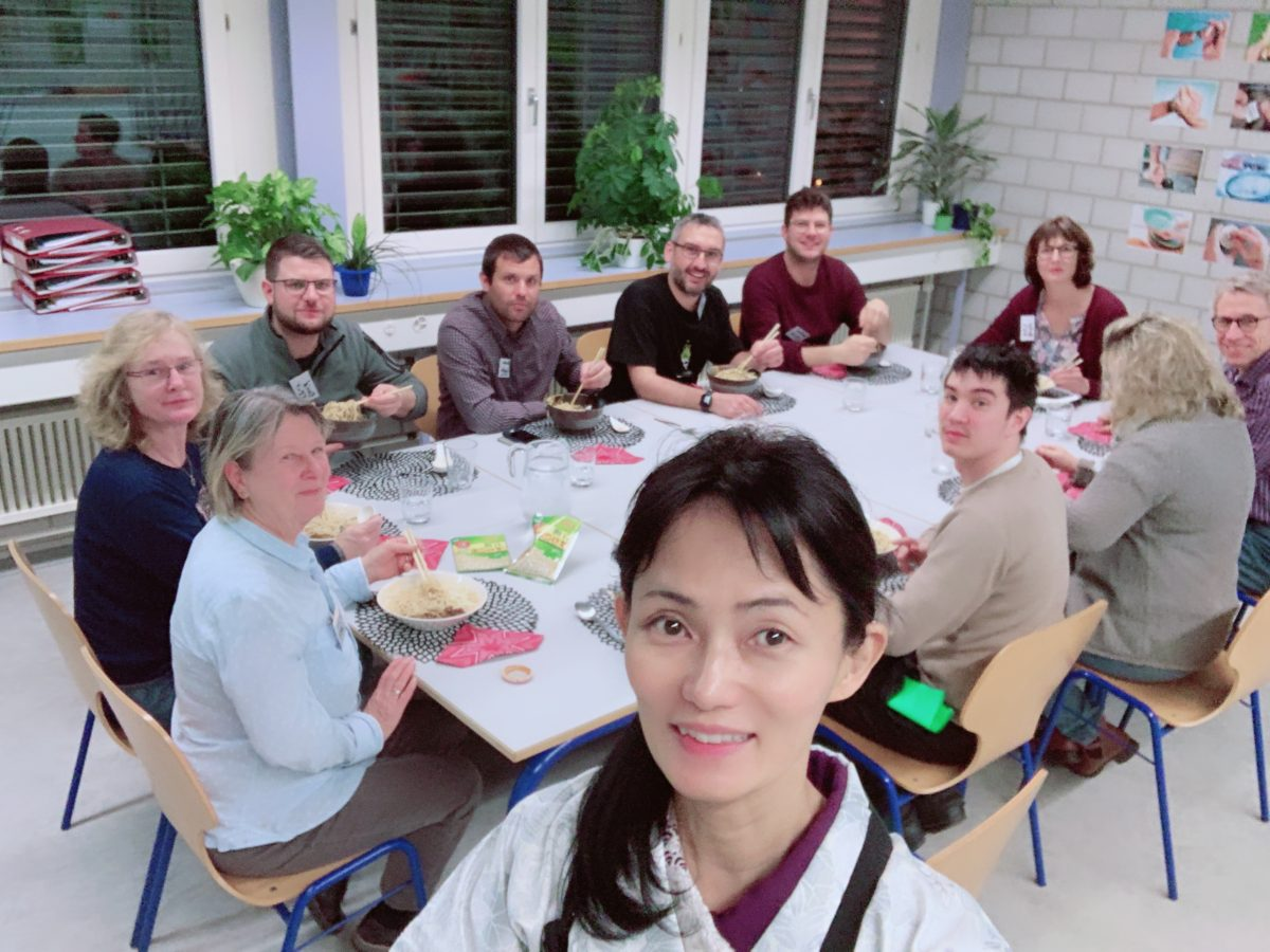onsite Ramen course in Aargau in January 2020
