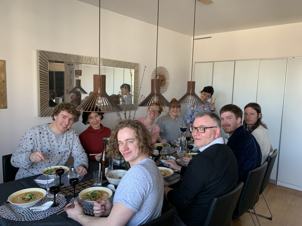 Japanese cooking class (Vegi-Ramen) in March 2020