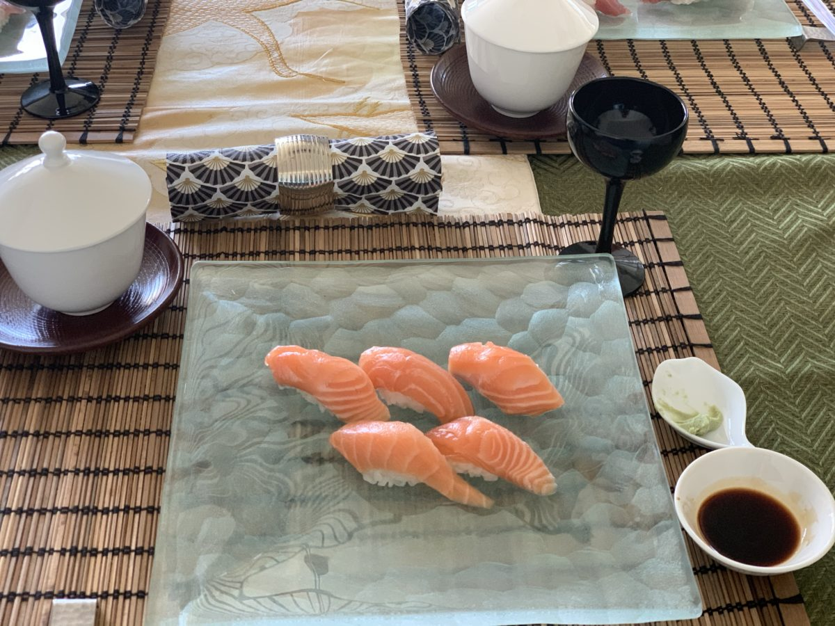 One day intensive sushi class in July 2020