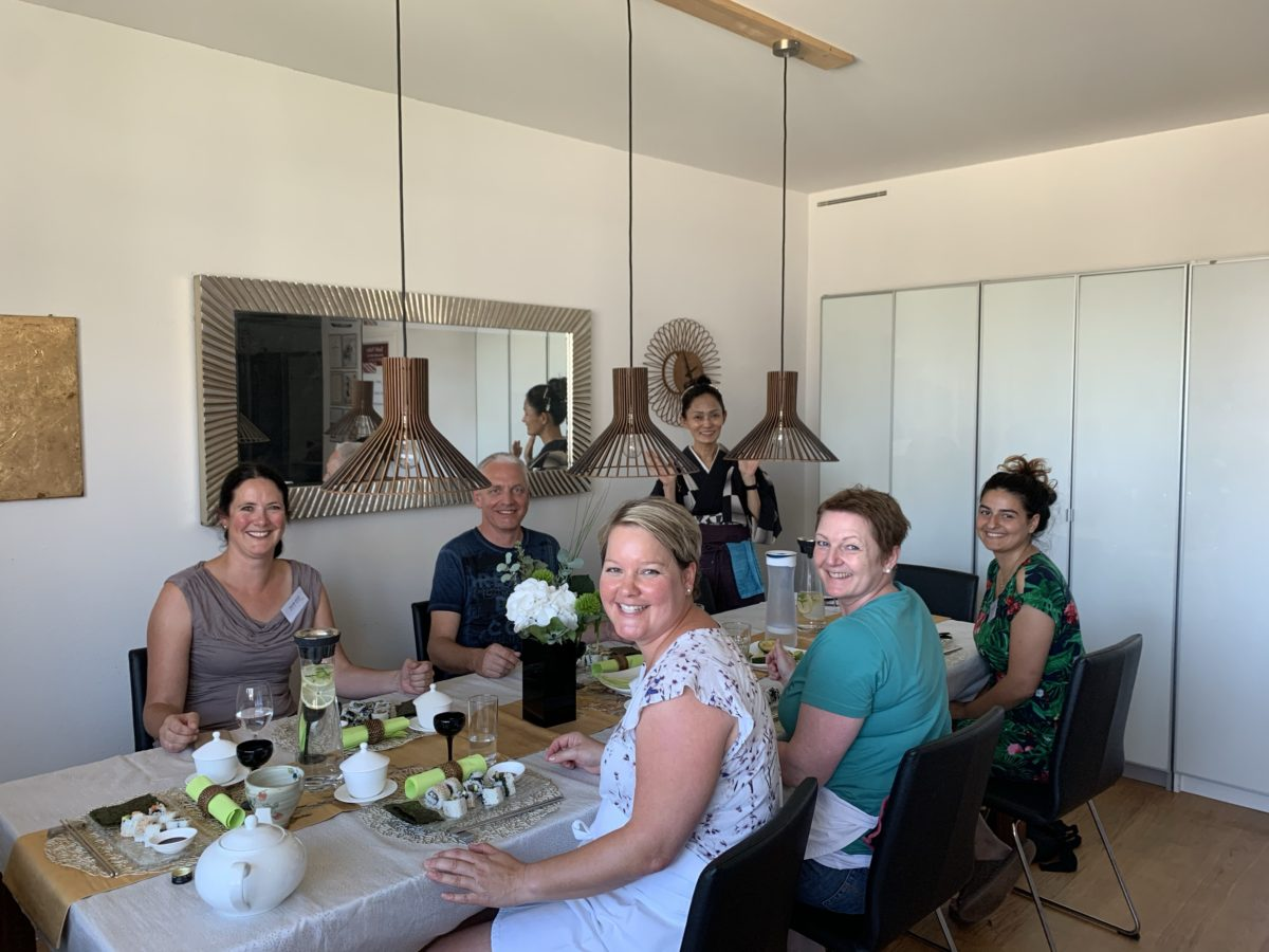 Inside-Out Roll Sushi Kurs im Juli 2020