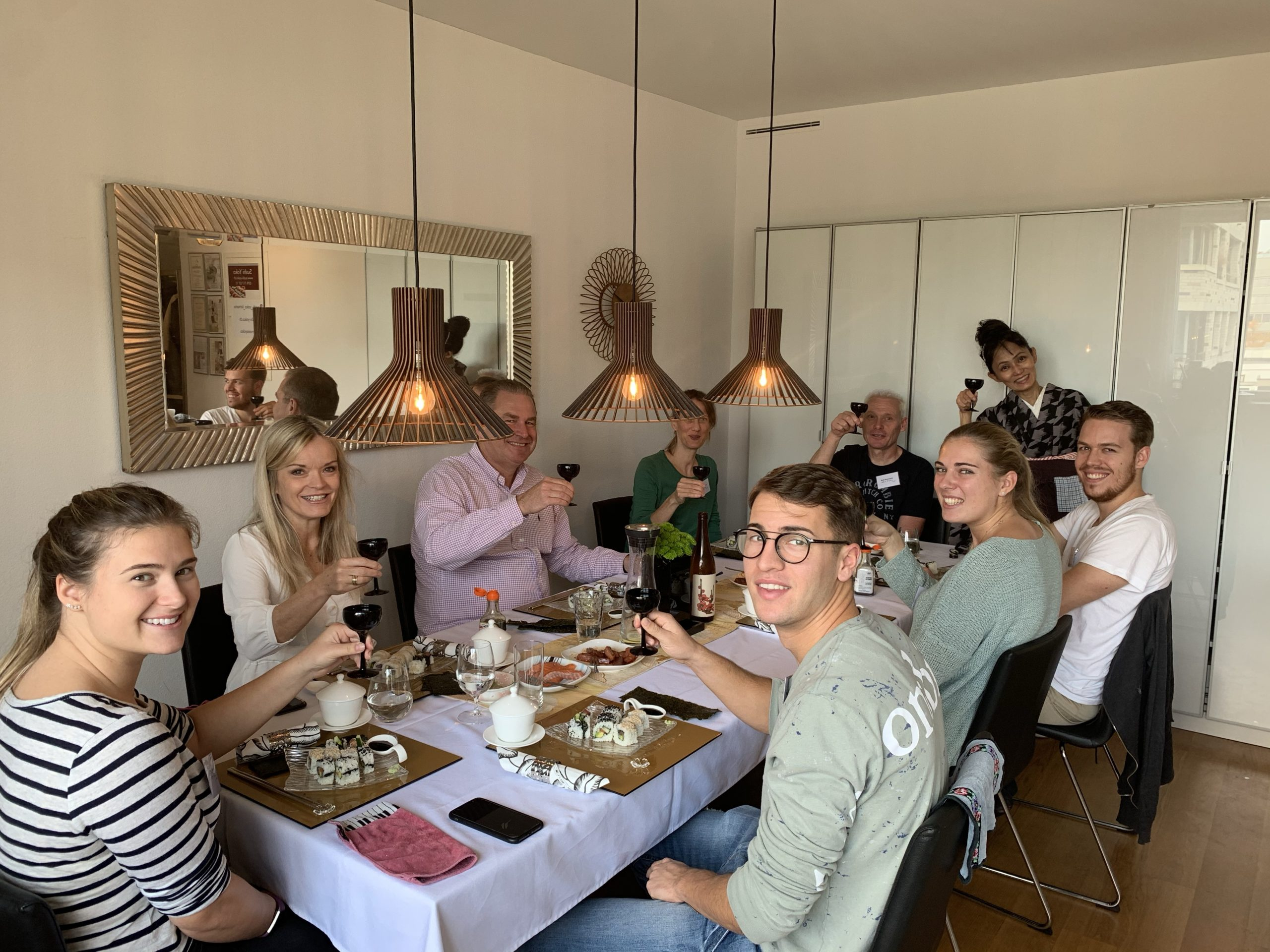 Inside-Out Roll Sushi Kurs im Oktober 2020(2)