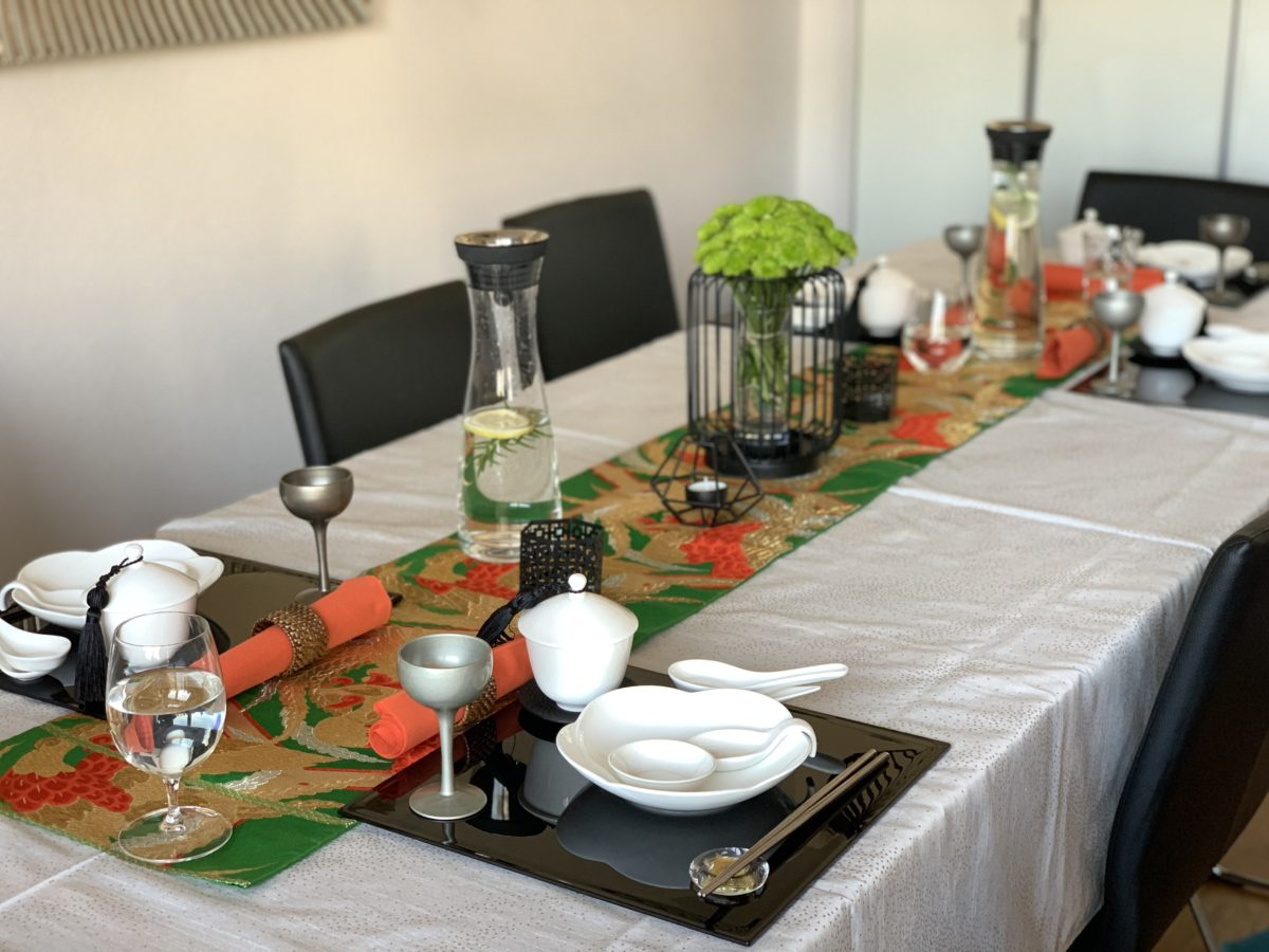 Veganer japanischer Kochkurs (Ramen, Hane Gyoza, Frühlingsrolle und Mangopudding) Oktober 2020