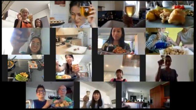 online cooking class karaage